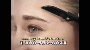 Brow Perfect TV Spot, 'Pain-Free Brow Shaping' - 9 commercial airings