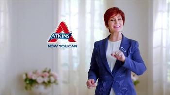 Atkins Bars TV Spot, 'Snack on the Run' Featuring Sharon Osbourne - Thumbnail 7