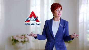 Atkins Bars TV Spot, 'Snack on the Run' Featuring Sharon Osbourne - Thumbnail 6