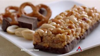 Atkins Bars TV Spot, 'Snack on the Run' Featuring Sharon Osbourne - 353 commercial airings