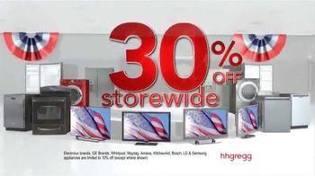 h.h. gregg Presidents' Day Sale TV Spot, 'Truckloads of Savings'