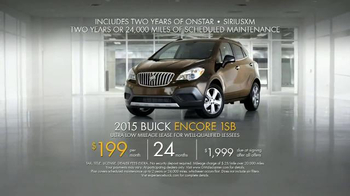 2015 Buick Encore President's Day Event TV Spot, 'Shattering Expectations' - Thumbnail 9