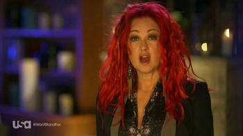USA Characters Unite TV Spot, 'Cyndi Lauper, True Colors Fund Co-Founder' - Thumbnail 1