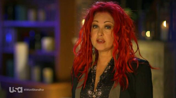 USA Characters Unite TV Spot, 'Cyndi Lauper, True Colors Fund Co-Founder' - Thumbnail 3