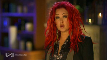 USA Characters Unite TV Spot, 'Cyndi Lauper, True Colors Fund Co-Founder' - Thumbnail 4