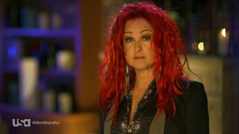 USA Characters Unite TV Spot, 'Cyndi Lauper, True Colors Fund Co-Founder' - Thumbnail 5