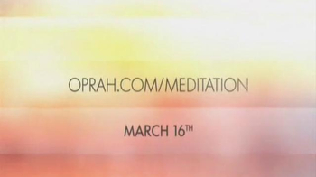Chopra Center Meditation TV Spot, 'Oprah and Deepak Meditation Class' - Thumbnail 5