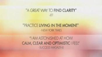Chopra Center Meditation TV Spot, 'Oprah and Deepak Meditation Class' - Thumbnail 2