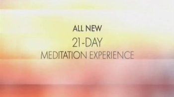 Chopra Center Meditation TV Spot, 'Oprah and Deepak Meditation Class' - Thumbnail 3