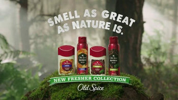 Old Spice Fresher Collection TV Spot, 'Woods' - Thumbnail 8
