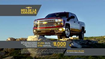 Chevrolet Mes de la Camioneta TV Spot, 'Nuevos Caminos' [Spanish] - Thumbnail 9