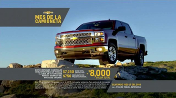 Chevrolet Mes de la Camioneta TV Spot, 'Nuevos Caminos' [Spanish] - Thumbnail 7