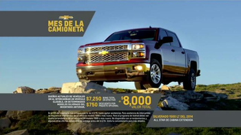 Chevrolet Mes de la Camioneta TV Spot, 'Nuevos Caminos' [Spanish] - Thumbnail 8
