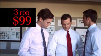 JoS. A. Bank TV Spot, '3 for $99 Shirts January 27' - Thumbnail 6