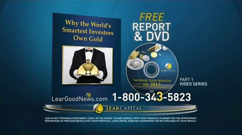 Lear Capital Gold TV Spot, 'Have you Heard the Good News about Gold?' - Thumbnail 9