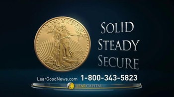 Lear Capital Gold TV Spot, 'Have you Heard the Good News about Gold?' - Thumbnail 4