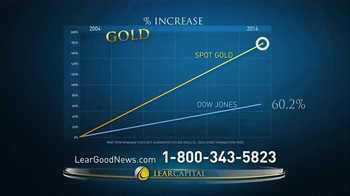 Lear Capital Gold TV Spot, 'Have you Heard the Good News about Gold?' - Thumbnail 5