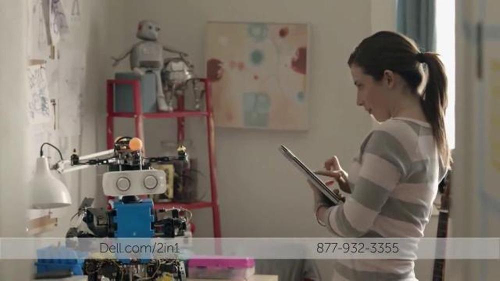 Dell 2-in-1 TV Commercial, 'Cient??fico Adolescente Construye un Robot'