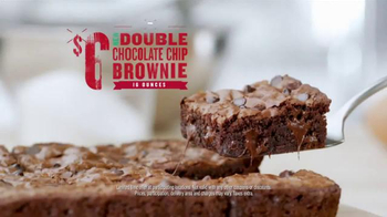 Papa John's Double Chocolate Chip Brownie TV Spot, 'Better Brownie' - Thumbnail 5