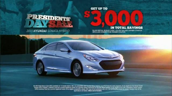 Hyundai Presidents' Day Sales Event TV Spot, 'Monumental Savings'' - Thumbnail 5