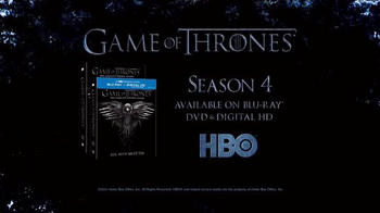 Game of Thrones: The Complete Fourth Season Blu-ray and DVD TV Spot - Thumbnail 9
