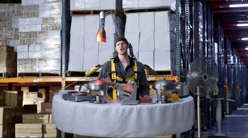Jack in the Box Loaded Breakfast Sandwich TV Spot, 'Breakfast Buffet to Go' - Thumbnail 1