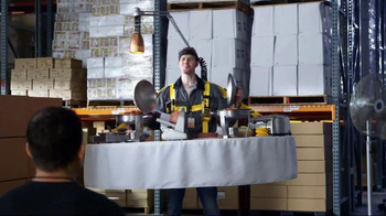 Jack in the Box Loaded Breakfast Sandwich TV Spot, 'Breakfast Buffet to Go' - Thumbnail 4