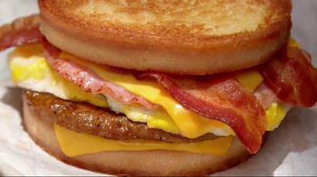 Jack in the Box Loaded Breakfast Sandwich TV Spot, 'Breakfast Buffet to Go' - Thumbnail 9