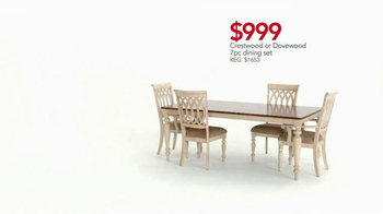 Macy's Presidents' Day Sale TV Spot, 'All Furniture On Sale' - Thumbnail 7