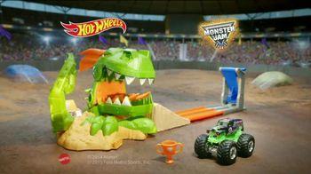 Hot Wheels Monster Jam Dragon Blast Track Set TV Spot, 'Push the Limits'