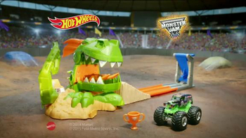 Hot Wheels Monster Jam Dragon Blast Track Set TV Spot, 'Push the Limits'