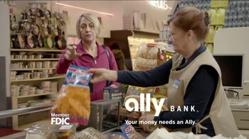 Ally Bank TV Spot, 'Facts of Life: Shopping' - Thumbnail 10