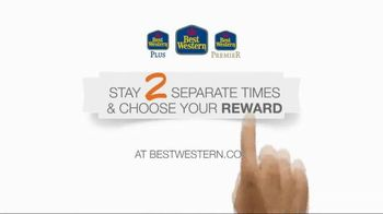 Best Western TV Spot, 'Stay Two Separate Times for Your Reward' - 1477 commercial airings