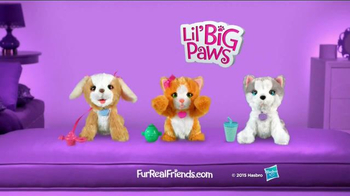 FurReal Friends Lil' Big Paws TV Spot, 'Play Peek-a-boo and More' - Thumbnail 8