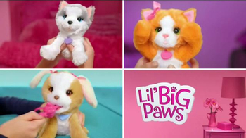 FurReal Friends Lil' Big Paws TV Spot, 'Play Peek-a-boo and More' - Thumbnail 2