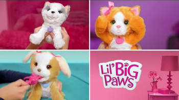 FurReal Friends Lil' Big Paws TV Spot, 'Play Peek-a-boo and More' - Thumbnail 7