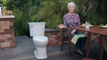 American Standard VorMax Toilet TV Spot, 'Splatter' - Thumbnail 7