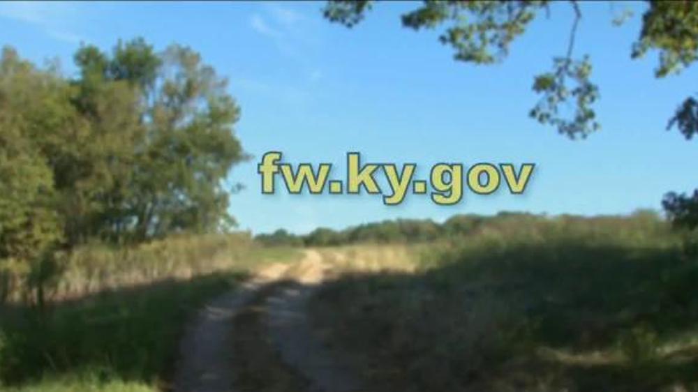 Kentucky department of fish wildlife tv commercial for Ky department of fish and wildlife