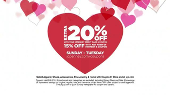 JCPenney Love It Need It Sale TV Spot, 'Gifts for All Your Valentines' - Thumbnail 3