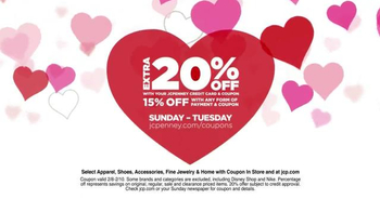 JCPenney Love It Need It Sale TV Spot, 'Gifts for All Your Valentines' - Thumbnail 4