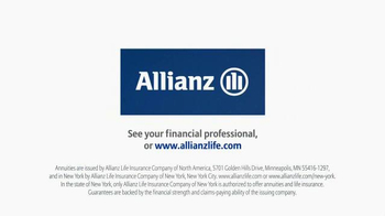 Allianz Corporation TV Spot, 'Ahhh, Retirement: For All That's Ahead' - Thumbnail 8