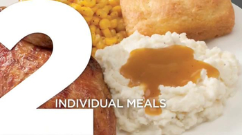 Boston Market 2 for $20 Complete Meal Deal TV Spot, 'Delicious Selections' - Thumbnail 4