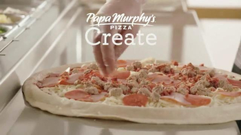Papa Murphy's 5-Meat Stuffed Pizza TV Spot, 'Family Temperature' - Thumbnail 5