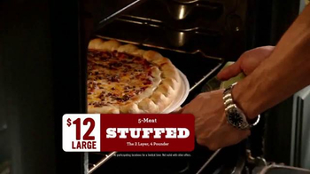 Papa Murphy's 5-Meat Stuffed Pizza TV Spot, 'Family Temperature' - Thumbnail 8