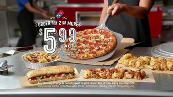 Domino's TV Spot, 'We're More Than Pizza' - Thumbnail 10