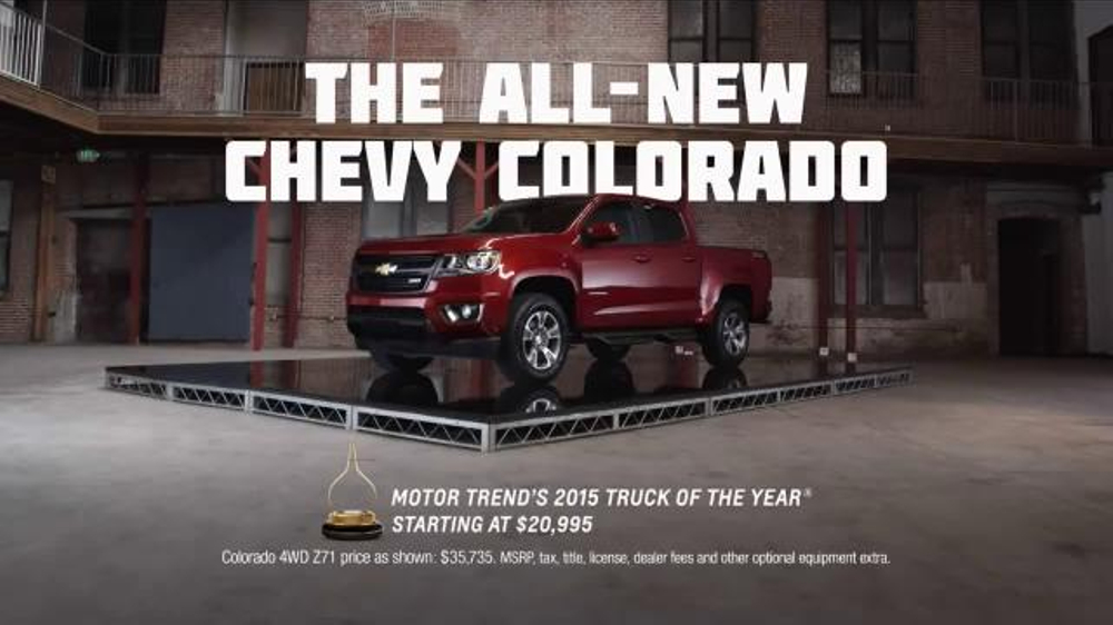 2015 Chevrolet Colorado TV Commercial, 'Truck Guy Focus ...