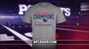 NFL Shop Super Bowl 2015 Postgame TV Spot, 'New England Patriots' - Thumbnail 2