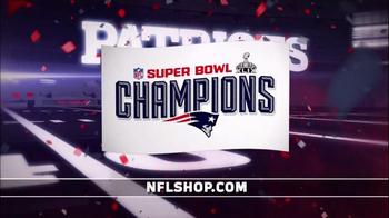 NFL Shop Super Bowl 2015 Postgame TV Spot, 'New England Patriots' - Thumbnail 3