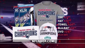 NFL Shop Super Bowl 2015 Postgame TV Spot, 'New England Patriots' - Thumbnail 4