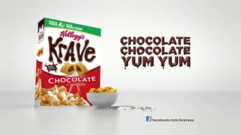 Kellogg's Krave TV Spot, 'Monstrously Good' - Thumbnail 10
